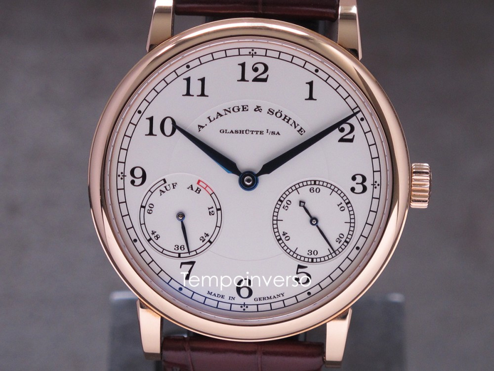 A.LANGE & SOHNE Up & Down rose gold full set 1815