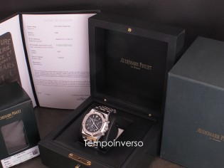 AUDEMARS PIGUET Chrono Kaspa blue dial Certificate & full AP serviced 2020 Royal oak