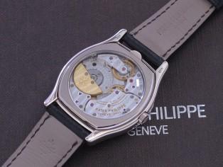 PATEK PHILIPPE Perpetual calendar white gold Breguet numerals full set  Men complications